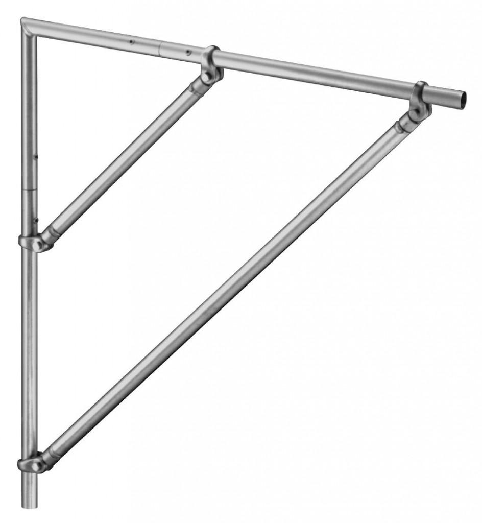 OPTI Trilite 100 Series 0.5m Corner Brace