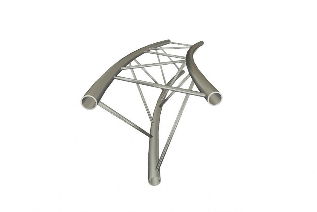 OPTI Trilite 18+ Curved Truss