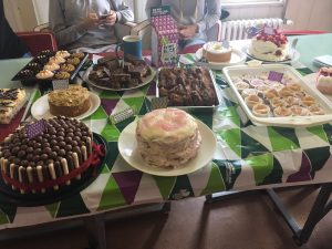 IMG 2881 300x225 - Macmillan Cancer Support Coffee and Cake Morning